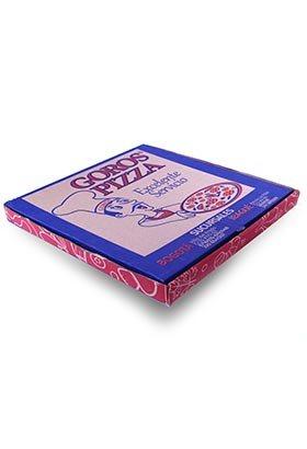 Caja para pizza de carton personalizada